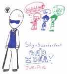 Stig and the Sweater Vest by J-M-P-16
