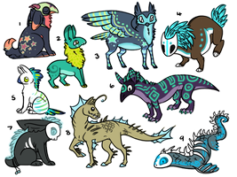 Custom Adopts 37 by AbwettarAdopt