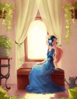 Camelia At The Window by Manly-Rainbow