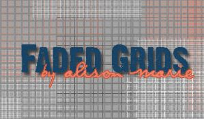Faded Grids - PSP brushes by sothenshebrokefree