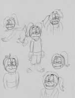 Nonsens and OOC Ralph  doodles by Aso-Designer