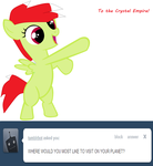 Holly Berry's Answer to Tumblrbot by DarkHeartUnicorn