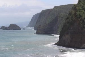 Giant cliffs by CAStock