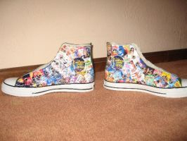Disney Converse Shoes by disneydreamer122