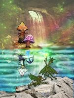 mushs and the leaf faeries by CReevesABudd