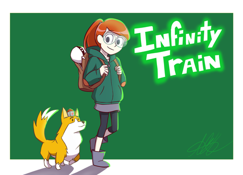 Infinity Train by MagicHeartACH