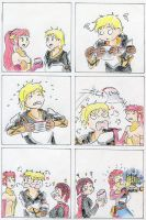 Rwby - Jaune Vs Chips by frasian