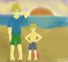 Isaac And His Son by TheSeaKing