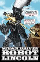Steam Driven Robot Lincoln by PaulSizer