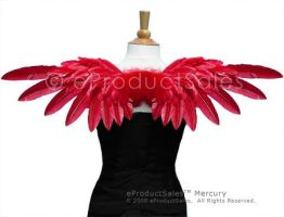 Red Hot Mercury Angel Wings by eProductSales