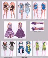 Fashion desing for a contest 2012 by CiRy15