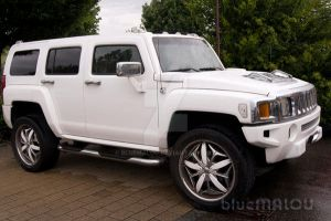 White Hummer by blueMALOU