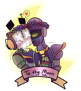 I Love You to the Moon and Back by BrokenWingsOfLight