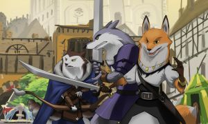 [Armello] Fight in the District by Purpleground02