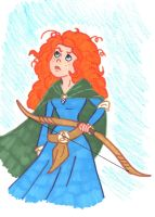 Merida the Brave by starrdust411