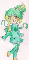 Bulbasaur Gijinka Girl Adoptable [CLOSED] by CaramelCreampuff