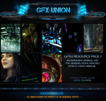 GFXU RES PACK #1 by LEE2oo