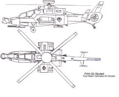 Skylark Attack Helicopter by TacticalCrash