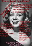 Marilyn Monroe Quotes II by SnowAngelSammi