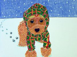 So brave are the Lonely ref PoodleShmoodle's puppy by Lou-in-Canada