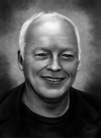David Gilmour - Speedpaint by hello-ground