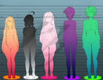 Height Chart by MulberryDreamer