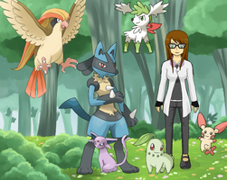Me as a Pokemon Trainer by holliday4u