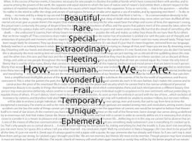 How. Human. We. Are. by SenorInfinito