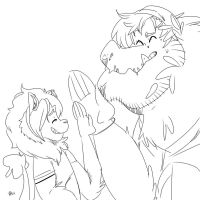 LHO: High Five by PaperBagHero
