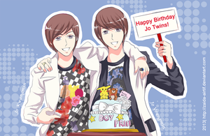 Happy Birthday Jo Twins! by Zaida-Airtif