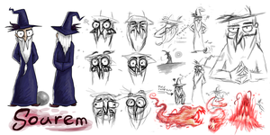 Character sheet- Sourem, the wizard guy by Sneiks