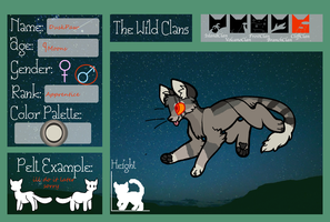 DuskPaw ref by sugermonster