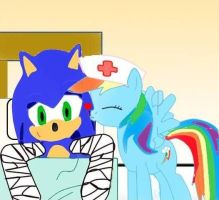 My little nurse Rainbow by kaiamurosesei