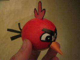 angry bird egg by toastles