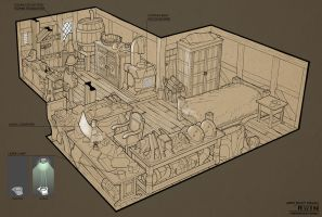 Hero Room Design by Conceptibot