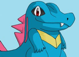 Totodile by hchic4life