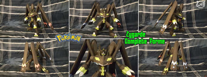 Pokemon Papercraft ~ Perfect Zygarde ~ by SuperRetroBro