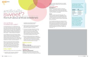 WW Artificially Sweet Layout by colorchrome