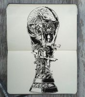 #163 Brazil World Cup by 365-DaysOfDoodles