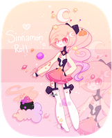 Halloween Mooncake Auction: CLOSED + Speedpaint! by Zombutts