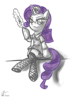 Nurse Rarity by leadhooves