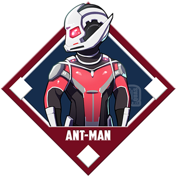 Marvel - Ant-Man by Quas-quas