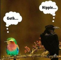 goth... hippie... by DoesCoffeeBleed
