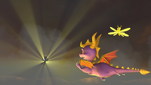 Spyro: The dream of flying by ZOomERart