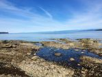 Blue Skies, Rocky Shores by illustratedHarmony