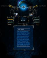 Starcraft II game template by Warl