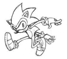 Sonic Doodle by Cody-Church