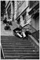 Montmartre Musician by edhall