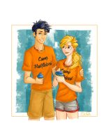 Percy And Annabeth by esasaki97