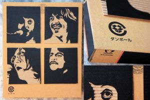 Paul John Ringo George by bldng343